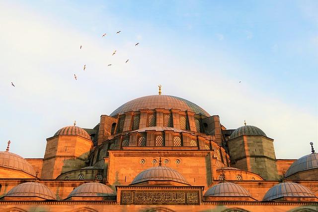 Mešita v meste Istanbul