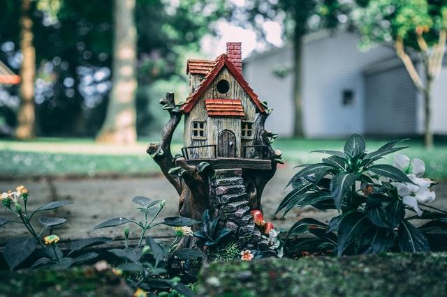 Model maličkého domčeka